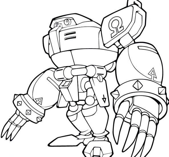 Sonic Coloring Pages Eggman
