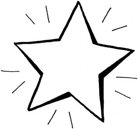 Star Coloring Pages Preschool