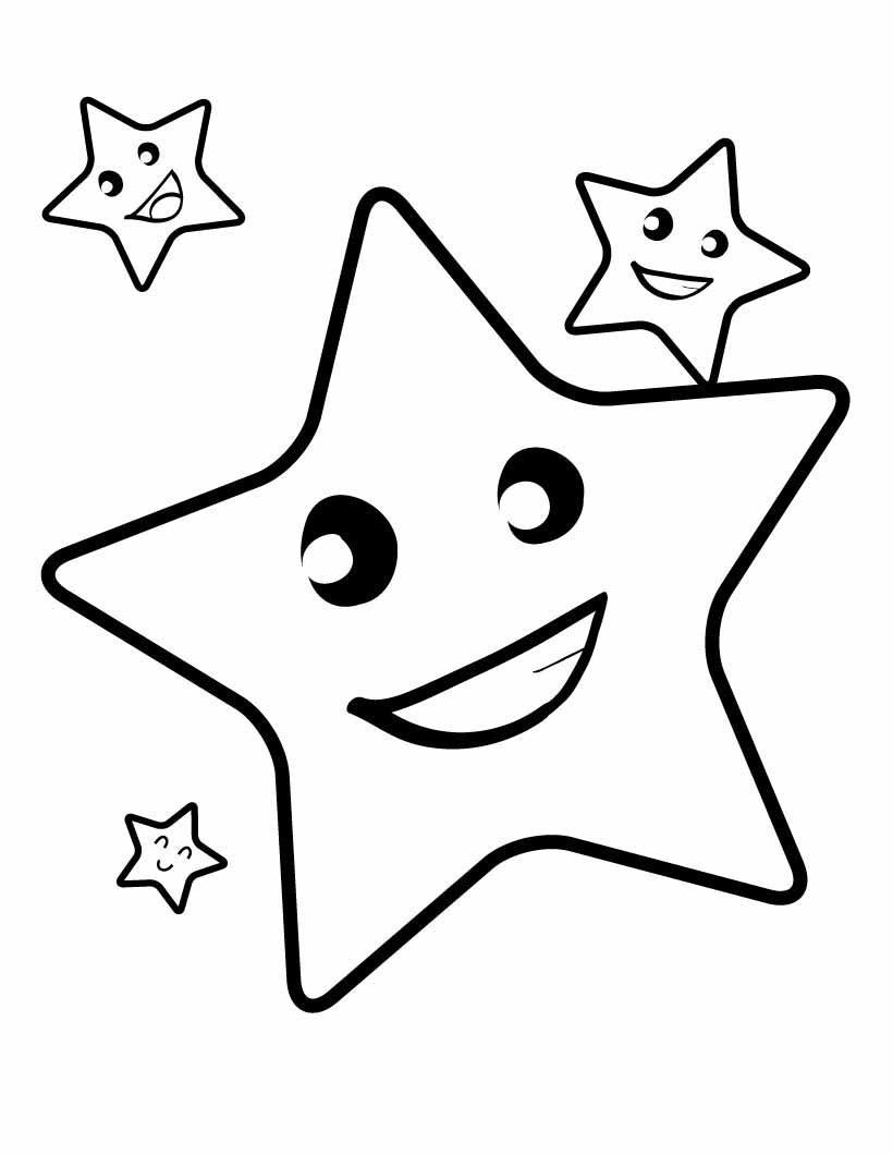 Star Coloring Sheet