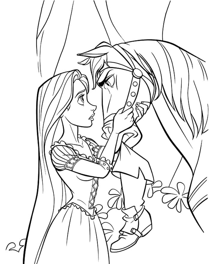 tangled coloring pages maximus ticket - photo#22