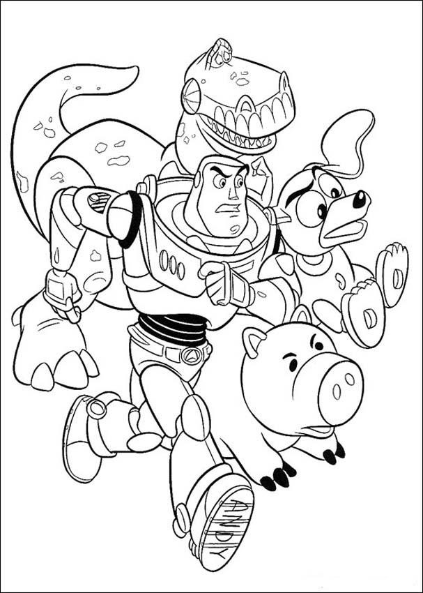 Toy Story 4 Coloring Page