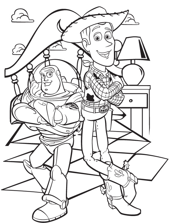 Toy Story Coloring Pages 360ColoringPages