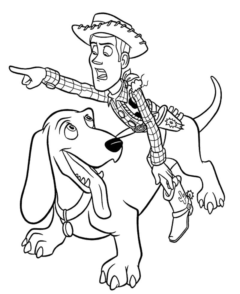 Toy Story Coloring Pages | 360ColoringPages