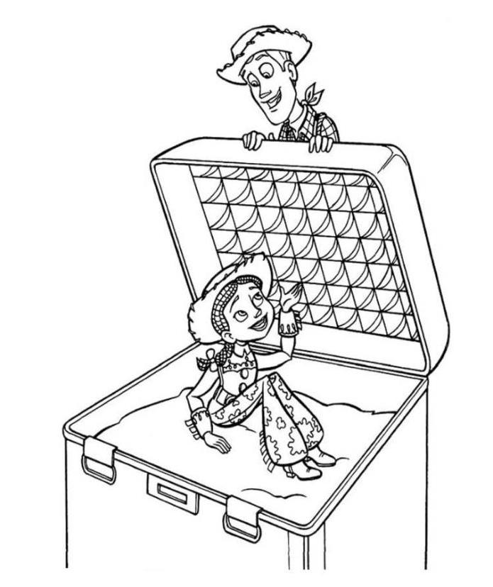 Free Toy Story Coloring Pages