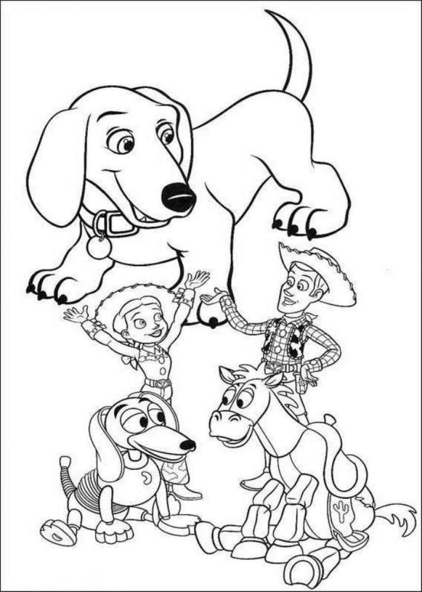 Toy Story Pictures to Color