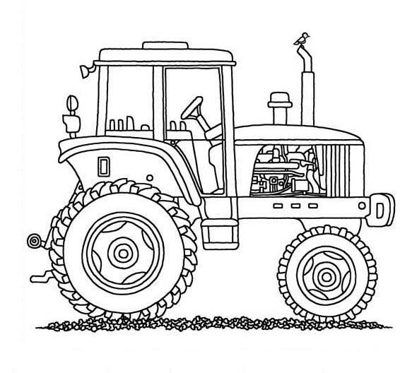 Tractor Coloring Pages Free Printable
