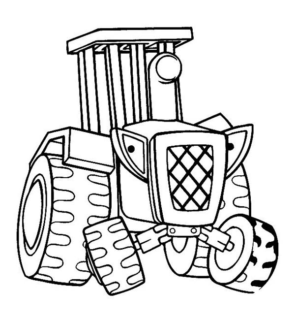 Tractor Coloring Sheets