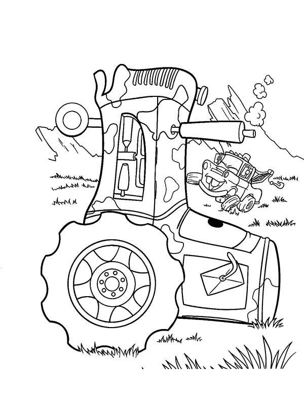Tractor Coloring Sheets Free Printable