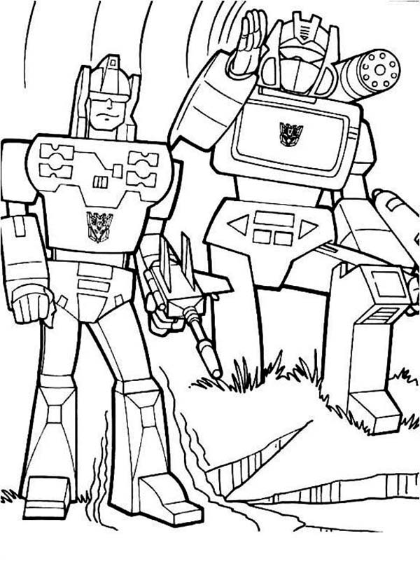 Transformers 3 Coloring Page