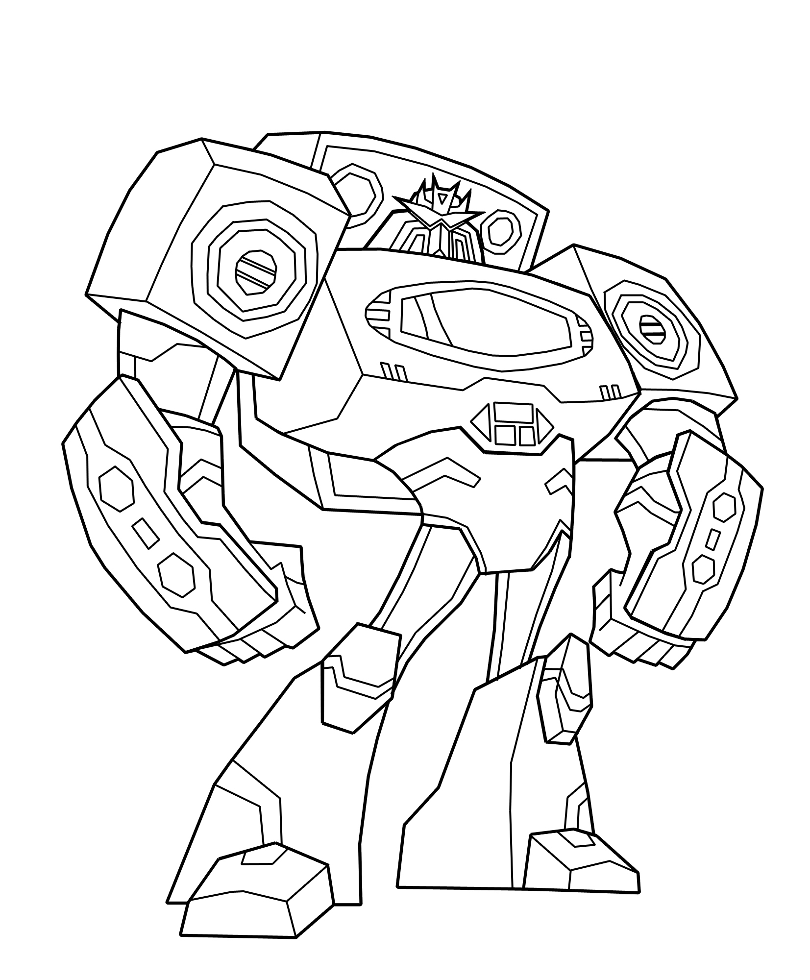 Transformers Coloring Pages | 360ColoringPages