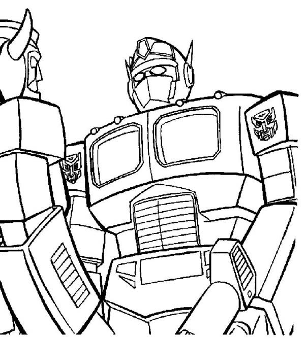Transformers Coloring Pages Free Print