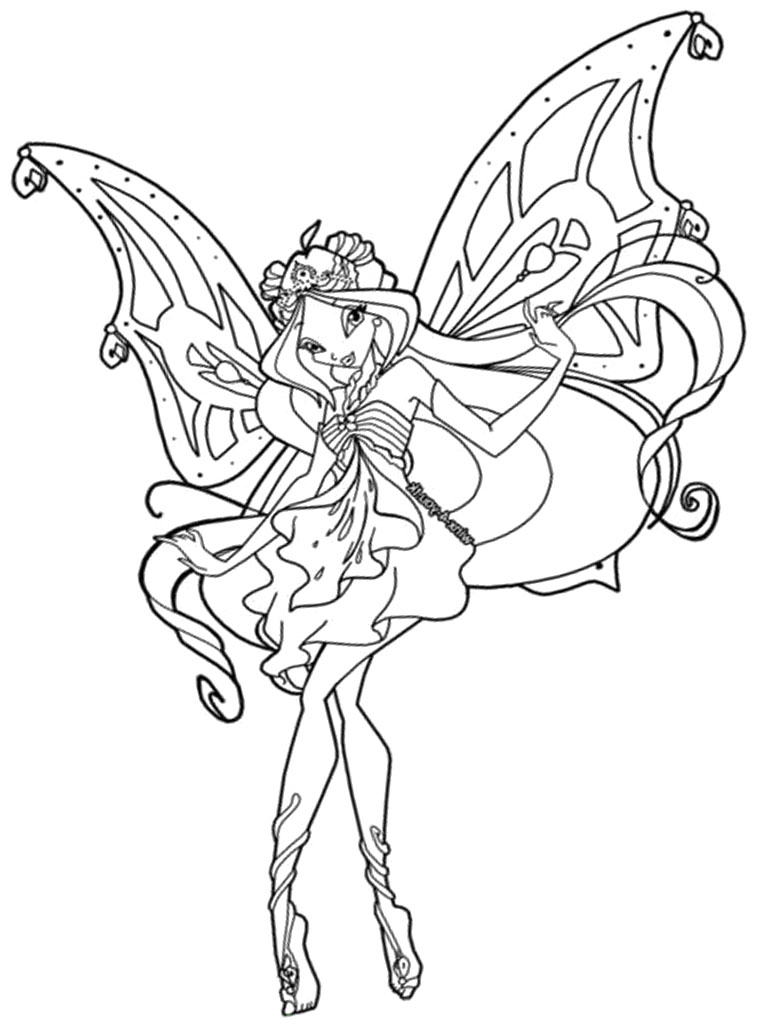 winxs club coloring pages - photo#2