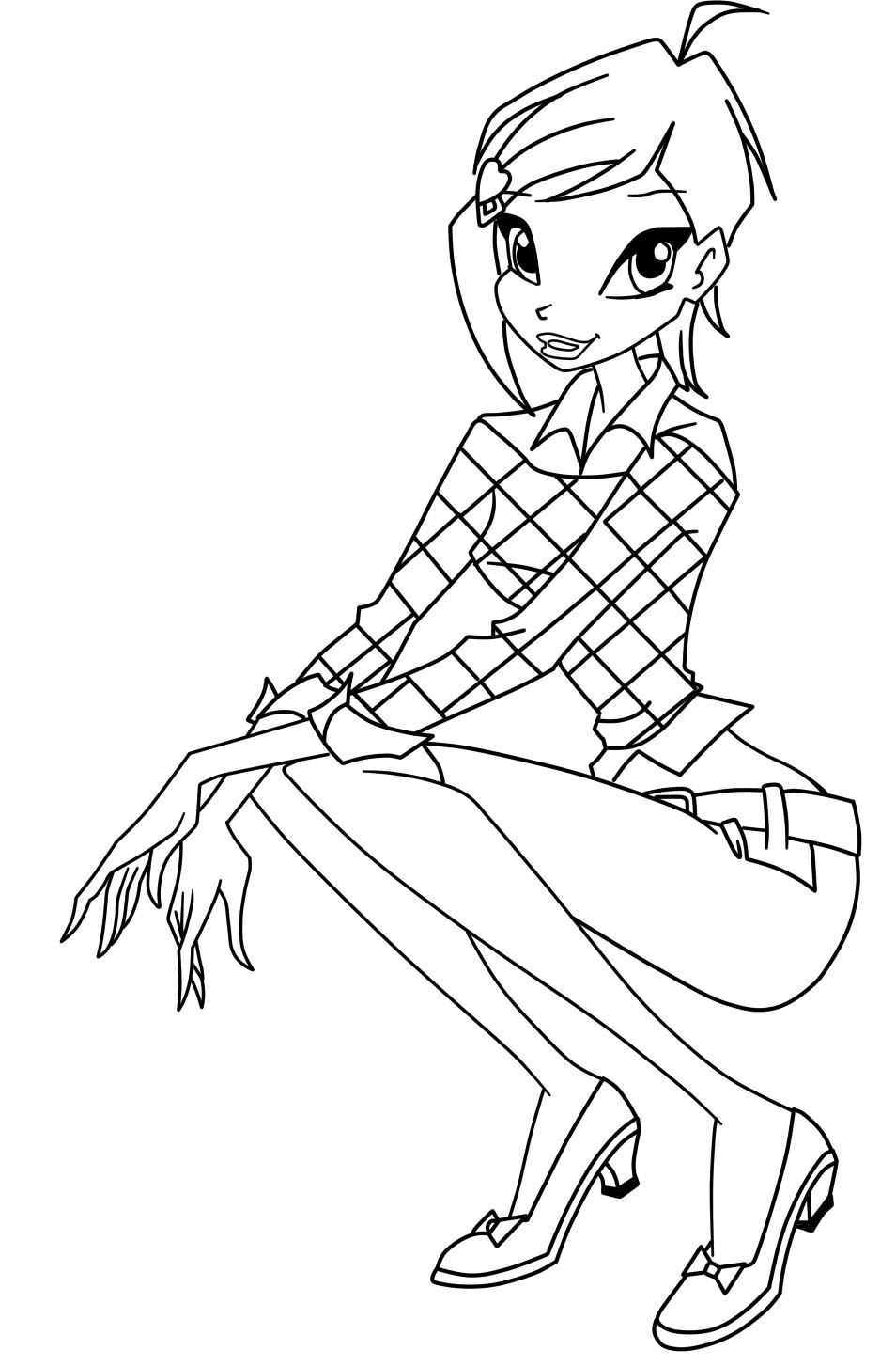 winxs club coloring pages - photo#42