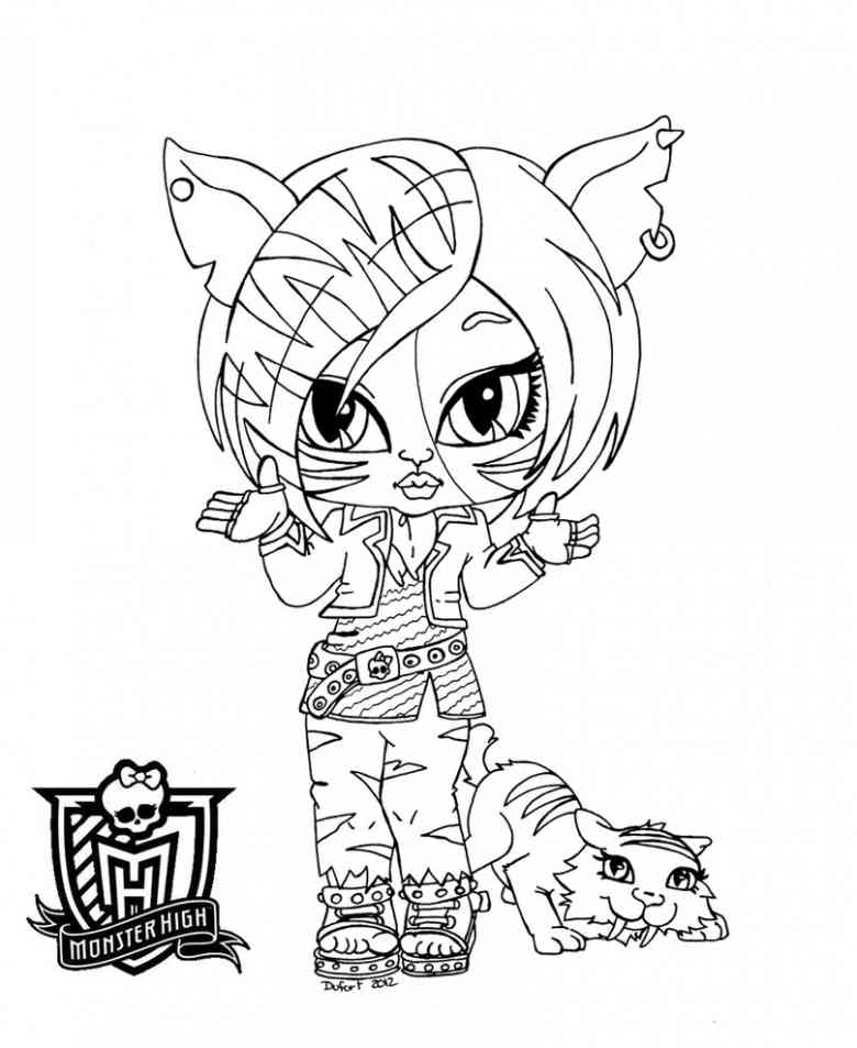Monster High Coloring Pages 360coloringpages