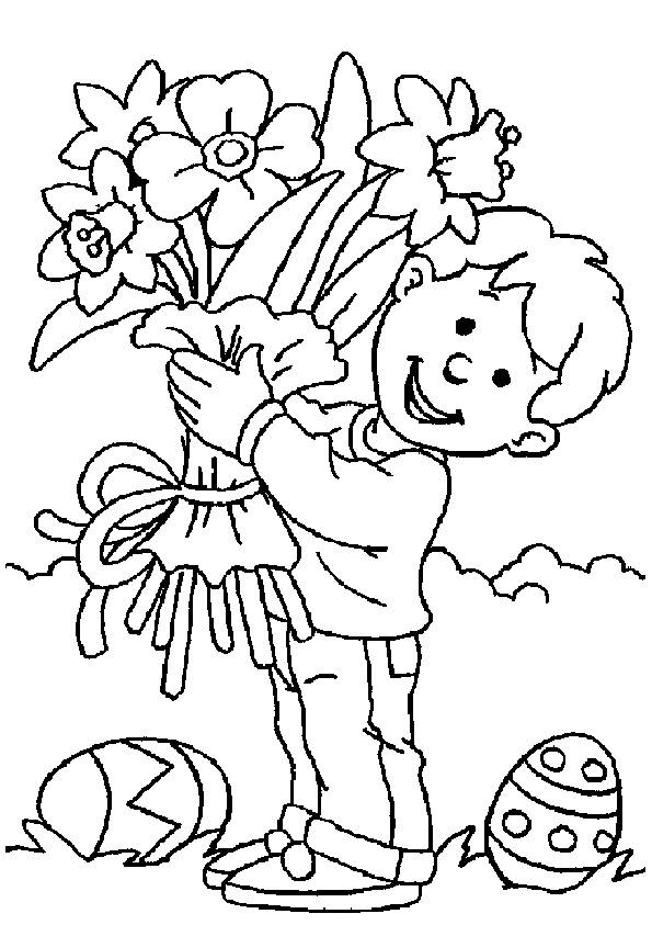 Easter Coloring Pages Christian