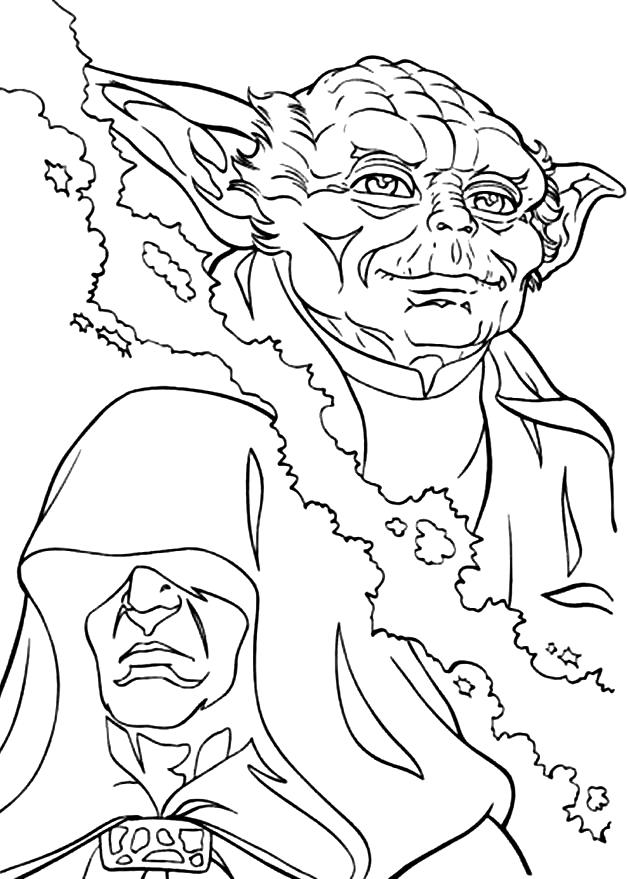 Coloring Pages of Star Wars Clone Wars