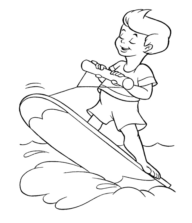 Coloring Pages of Summer Fun