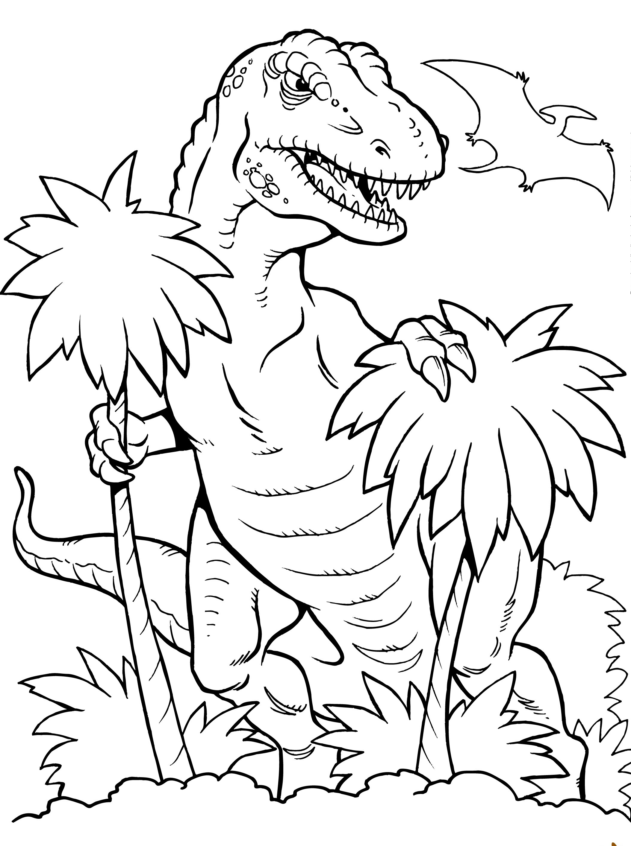 Coloring Pages of T Rex Dinosaurs