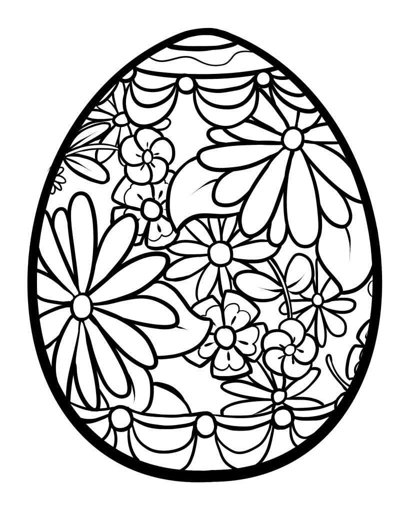 Easter Coloring Pages | 360ColoringPages