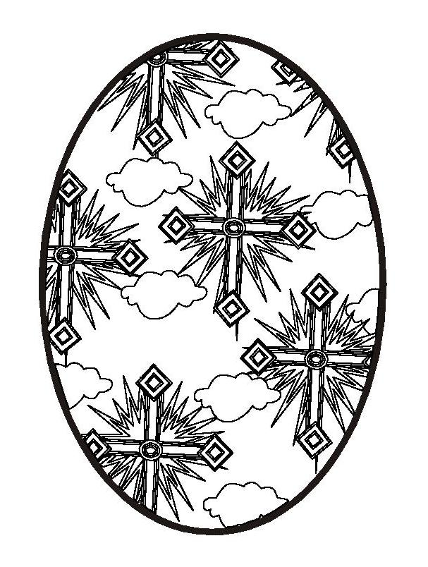 Religious Easter Coloring Pictures