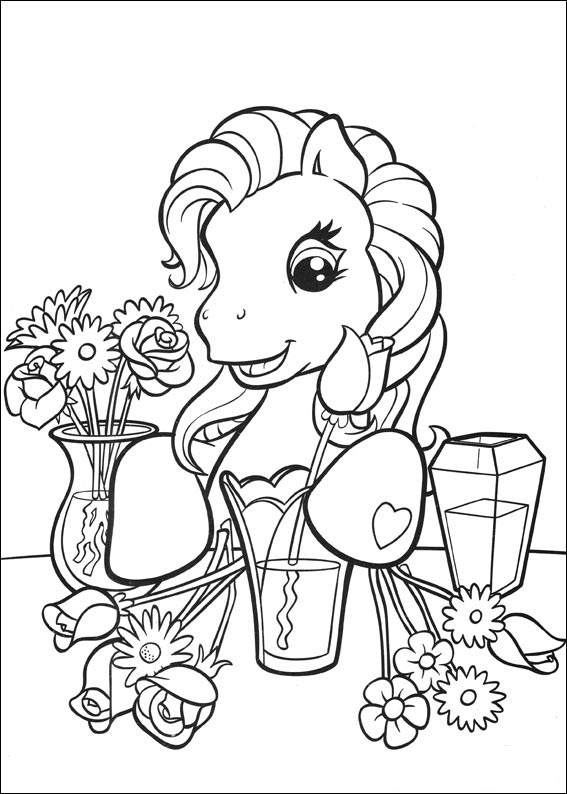 My Little Pony Coloring Pages Free Printable