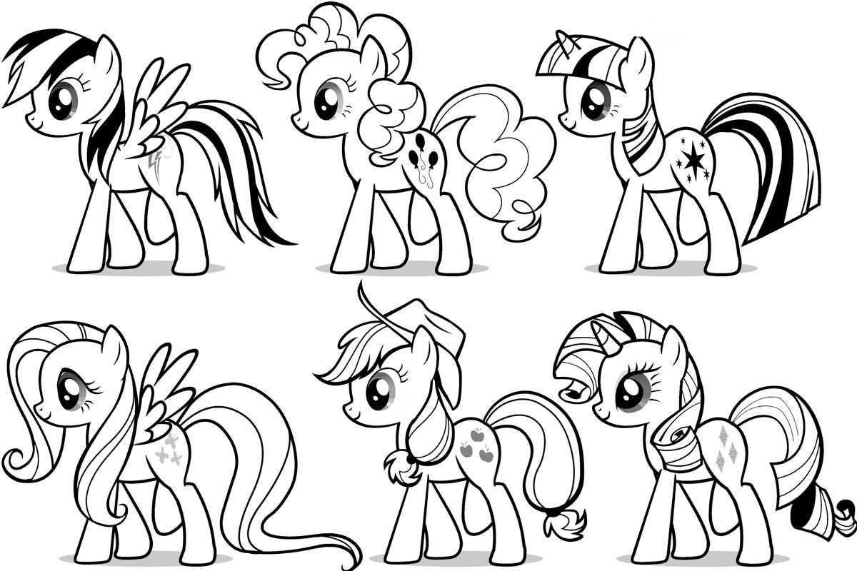 My Little Pony Pictures to Color