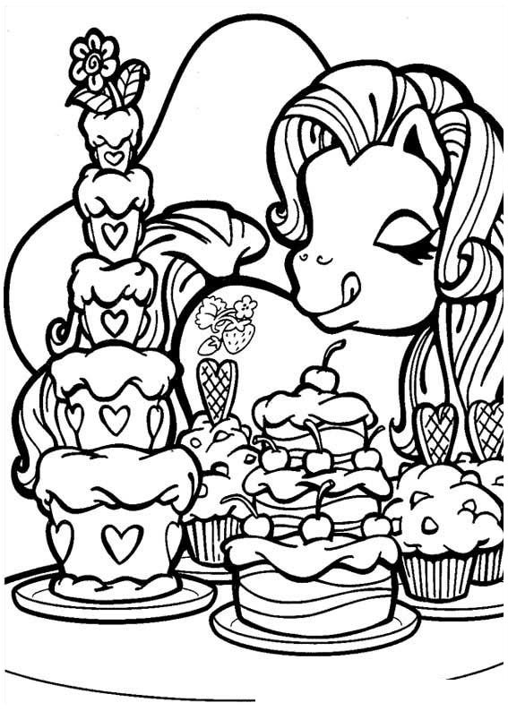 My Little Pony Coloring Sheets to Print