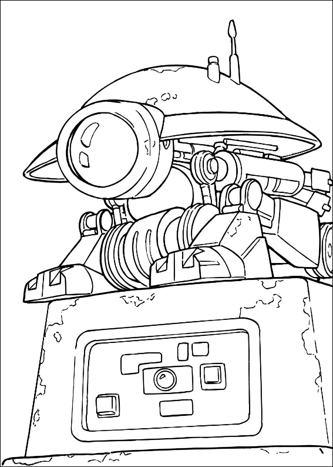 Star Wars Coloring Pages to Print Free