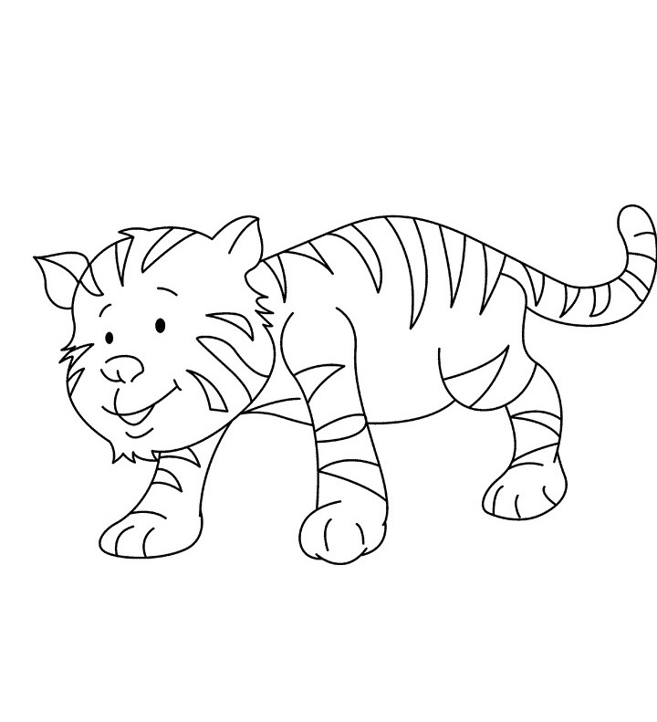 Tiger Coloring Pages 360coloringpages