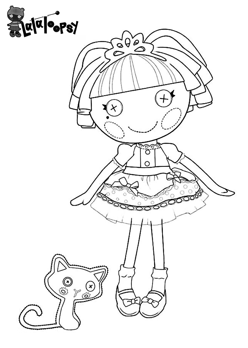 Lalaloopsy Coloring Pages 360ColoringPages