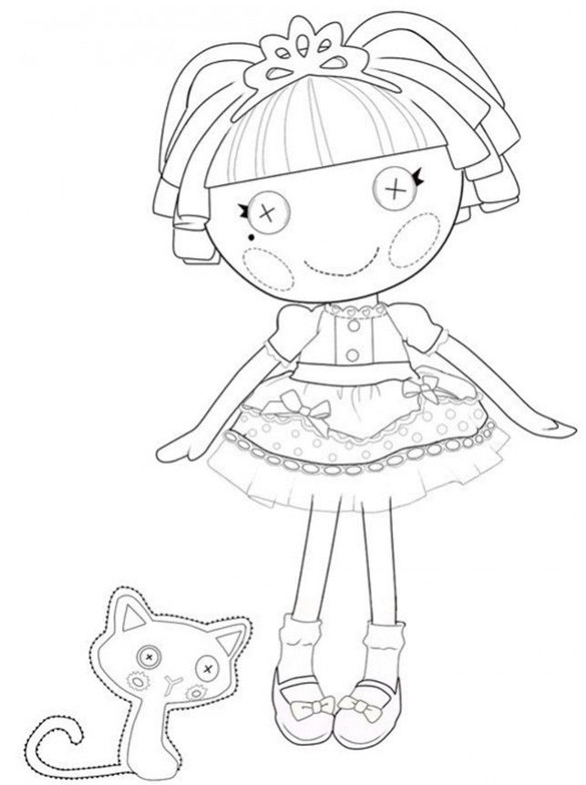 Printable Lalaloopsy Coloring Pages for Free