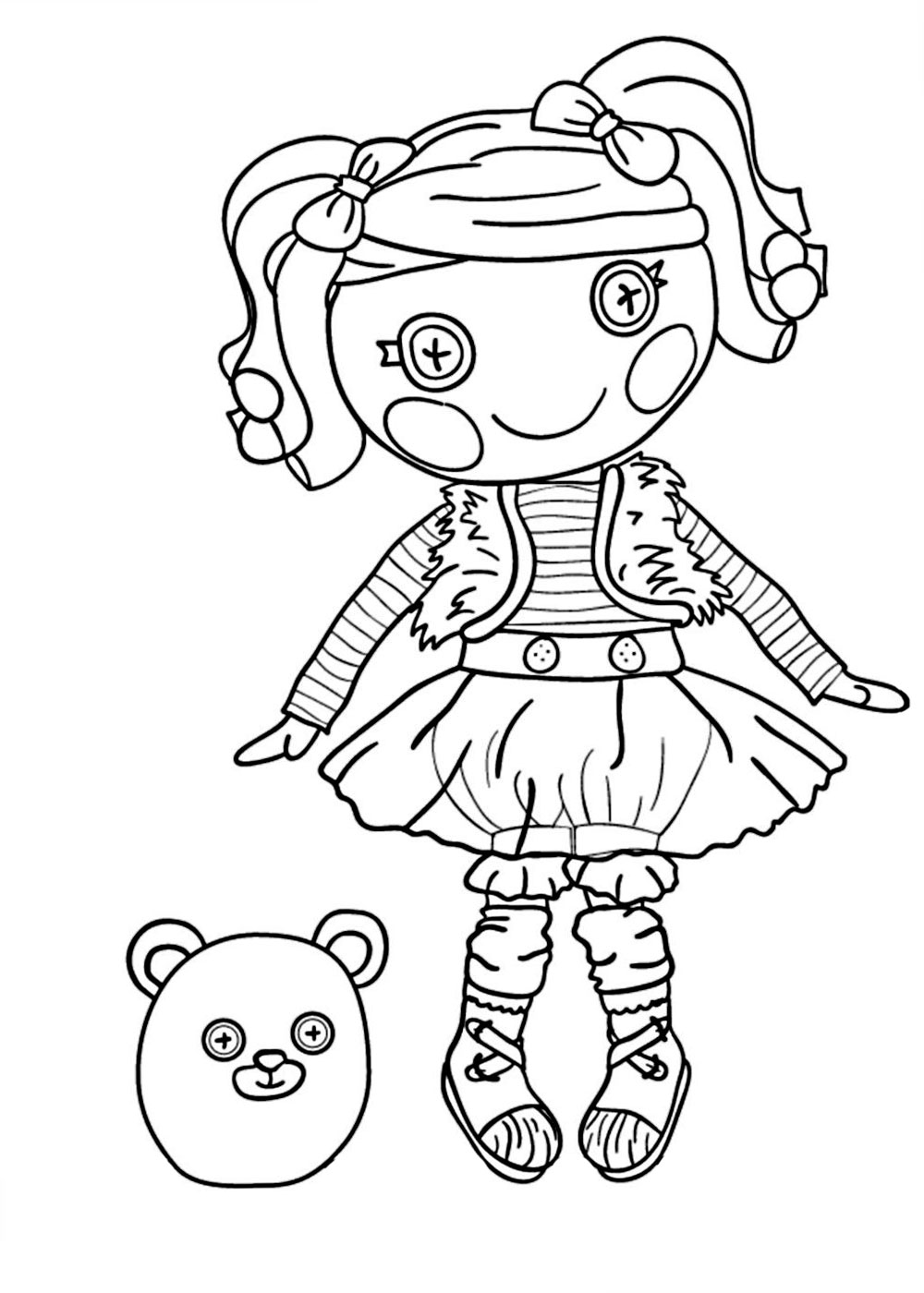 Lalaloopsy Coloring Picture