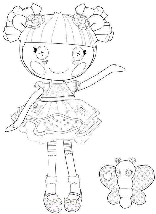 Lalaloopsy Coloring Pages | 360ColoringPages