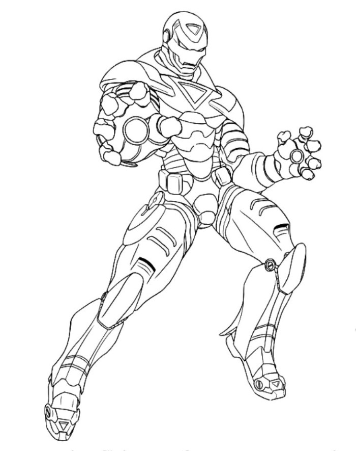 Avengers Coloring Pages Iron Man : Avengers coloring pages coloringpages