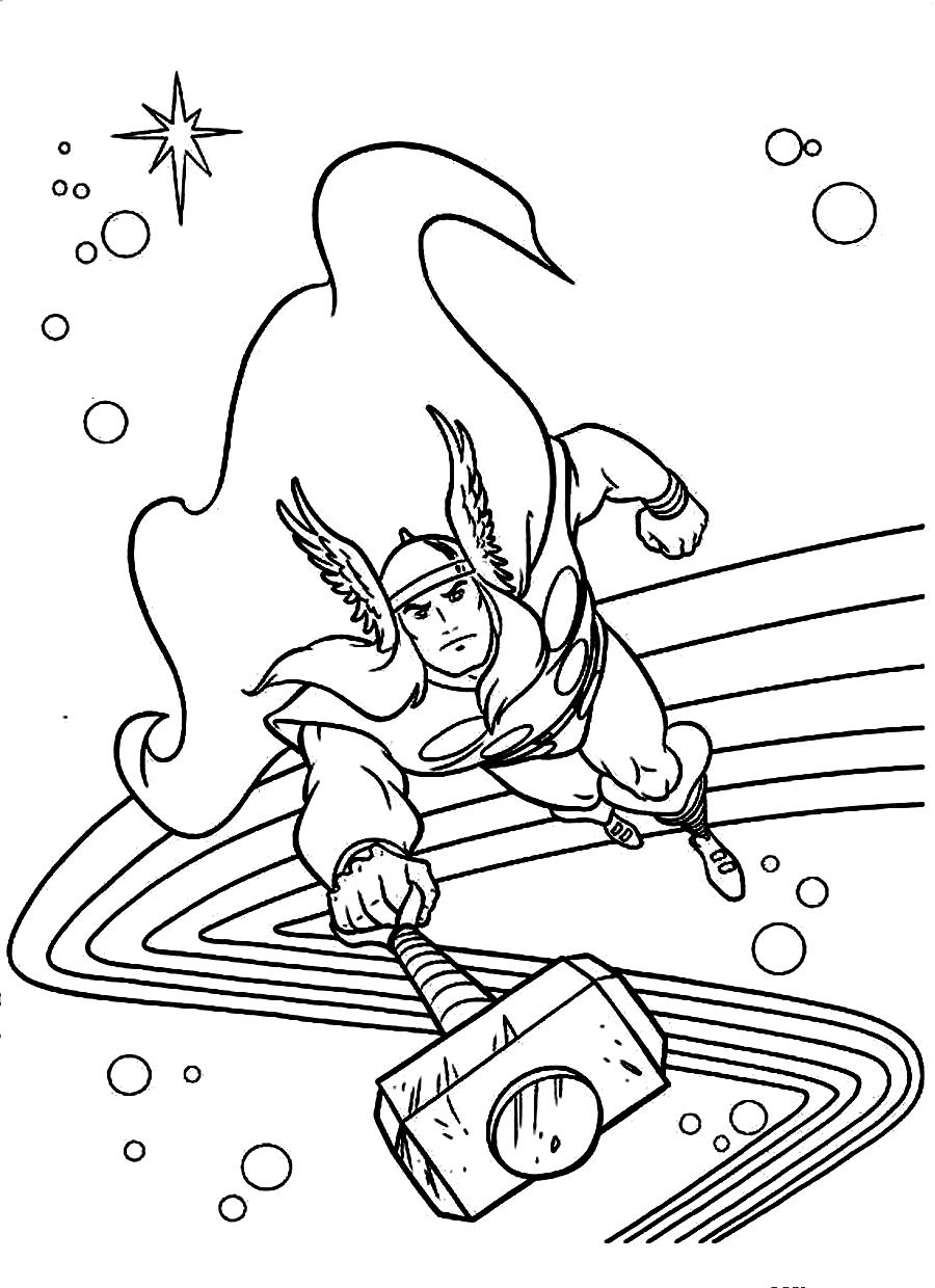 This is a graphic of Witty Avengers Coloring Pages Printable
