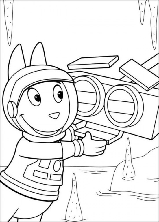 Free Backyardigans Coloring Pictures