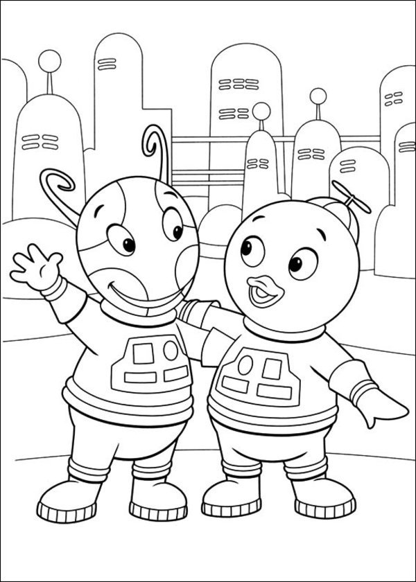 Backyardigans Coloring Pages | 360ColoringPages