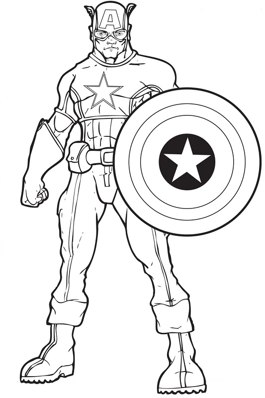 Free Superhero Coloring Pages Superhero Coloring Pages Avengers ... | 800x533