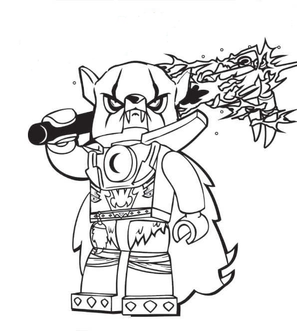 Chima Worriz Coloring Pages