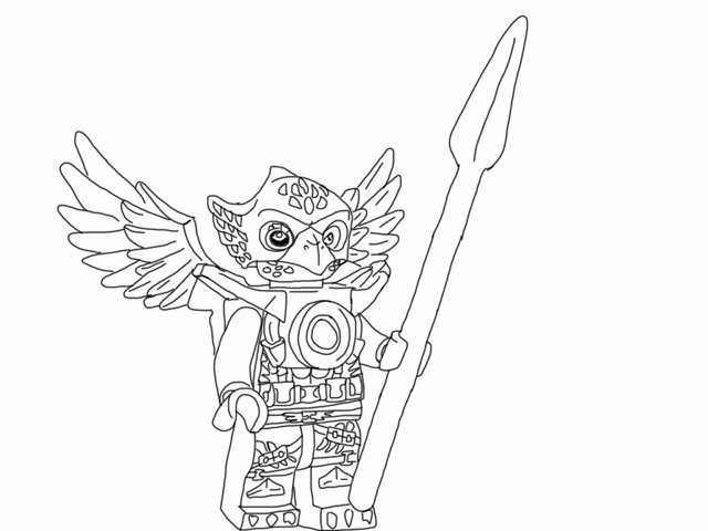 Chima Coloring Pages Printable