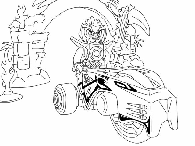 Chima Coloring Picture