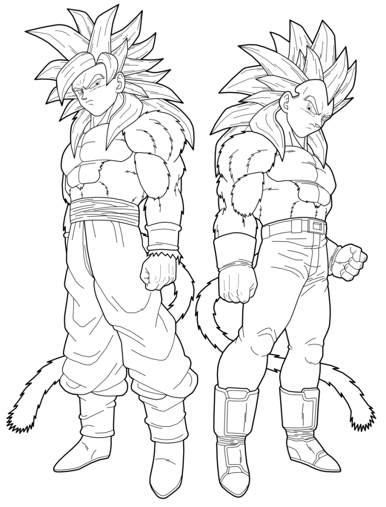 Dragon Ball Z Coloring Pages | 360ColoringPages