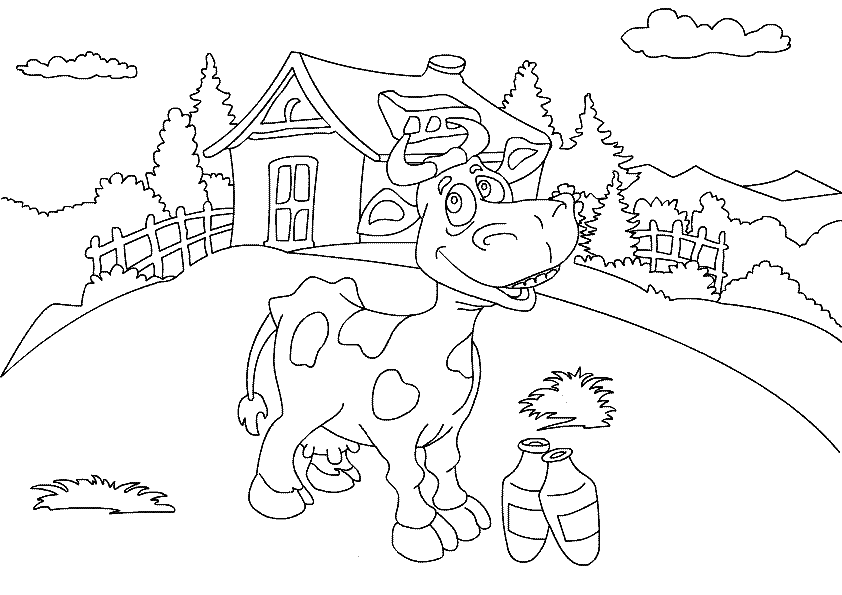 Farm animal coloring pages 360coloringpages for Farm animal coloring pages
