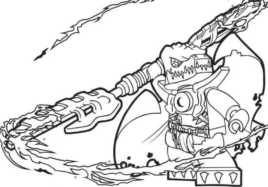 Chima Coloring Pages Free