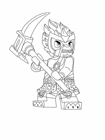 Chima Coloring Pages Free Printable
