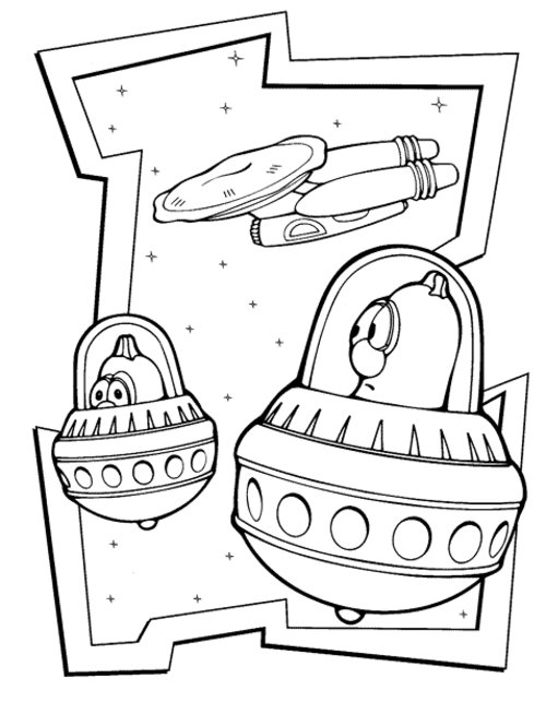free coloring pages veggie tales - photo#20