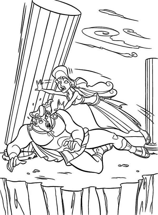 Hercules Coloring Pages | 360ColoringPages