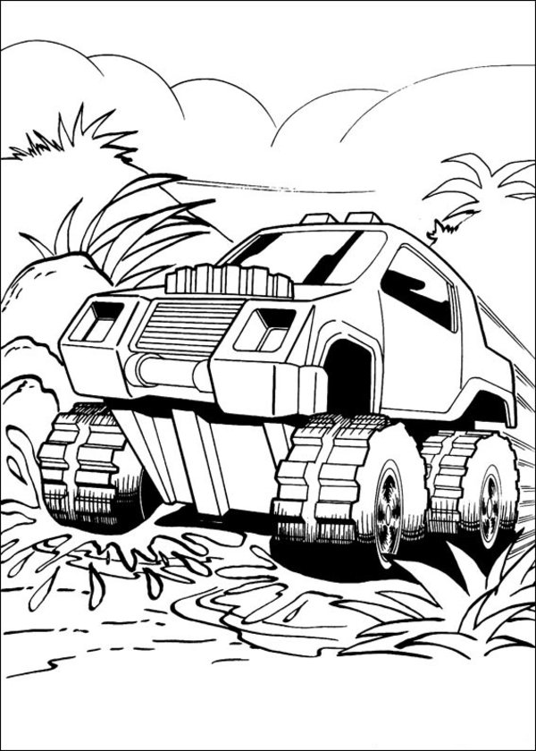 Hot Wheels Coloring Pages 360ColoringPages