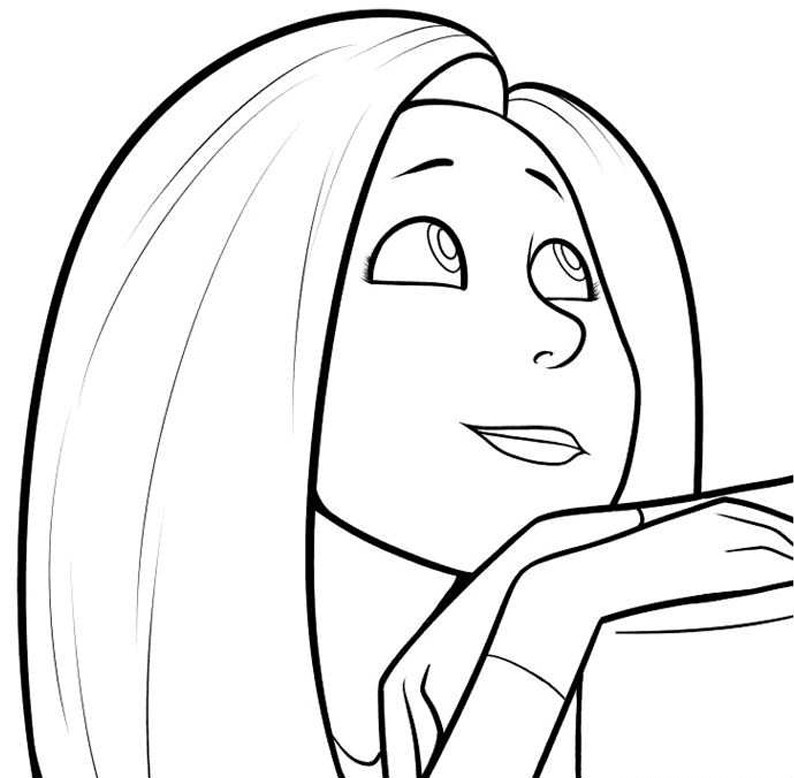Lorax Audrey Coloring Pages