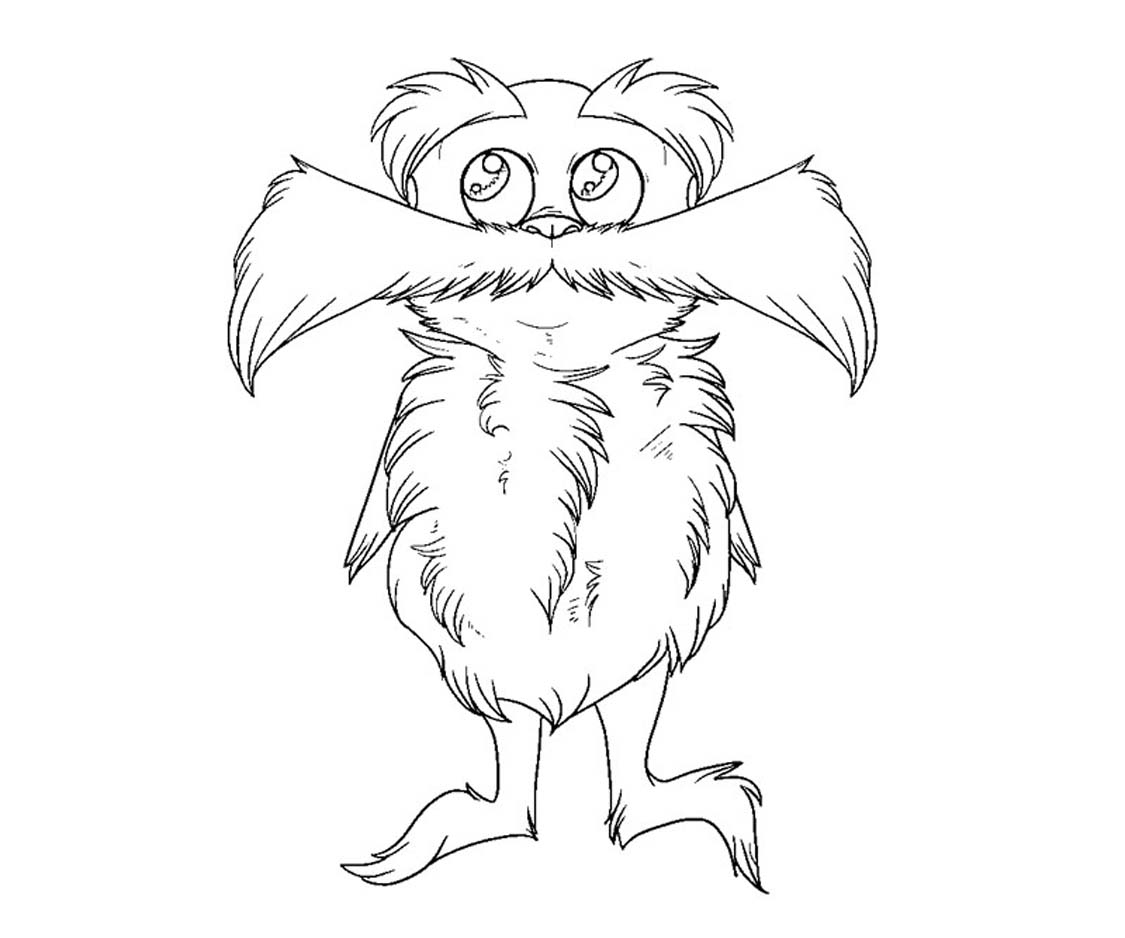 Free Lorax Coloring Pages Printable